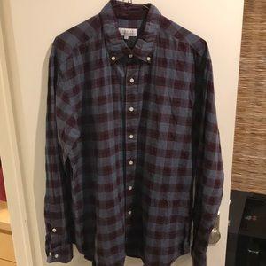 Barneys New York Long Sleeve Button Down Shirt